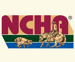 Logo depicting NCHA, the National Cutting Horse Association